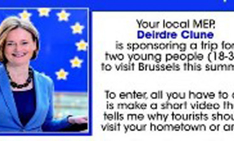 Win a trip for 2 to Brussels