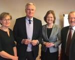 Irish MEPs meet with EU Brexit Negotiator