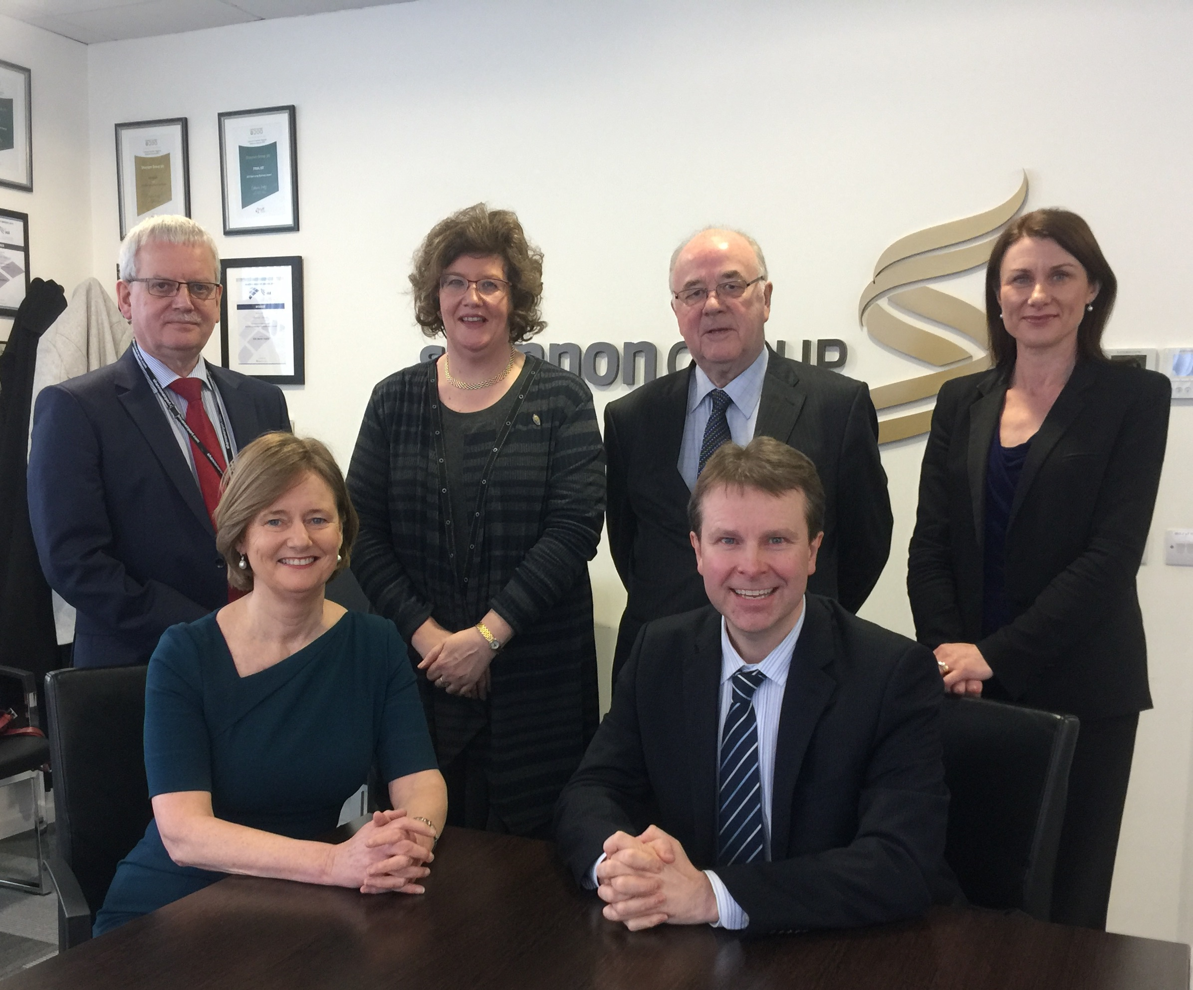 met with the CEO and board members of Shannon Airport just before the summer to discuss my ongoing work on the European Parliament's Aviation Strategy - pictured here with Tom Coughlan, Senator Maria Byrne, Tony Brazil, Mary Considine and Matthew Thomas, CEO